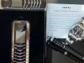 Collection of Vertu; Vertu Signature M x 2 in Steel, Cartier Roadster XL, Mont Blanc Fountain Pen